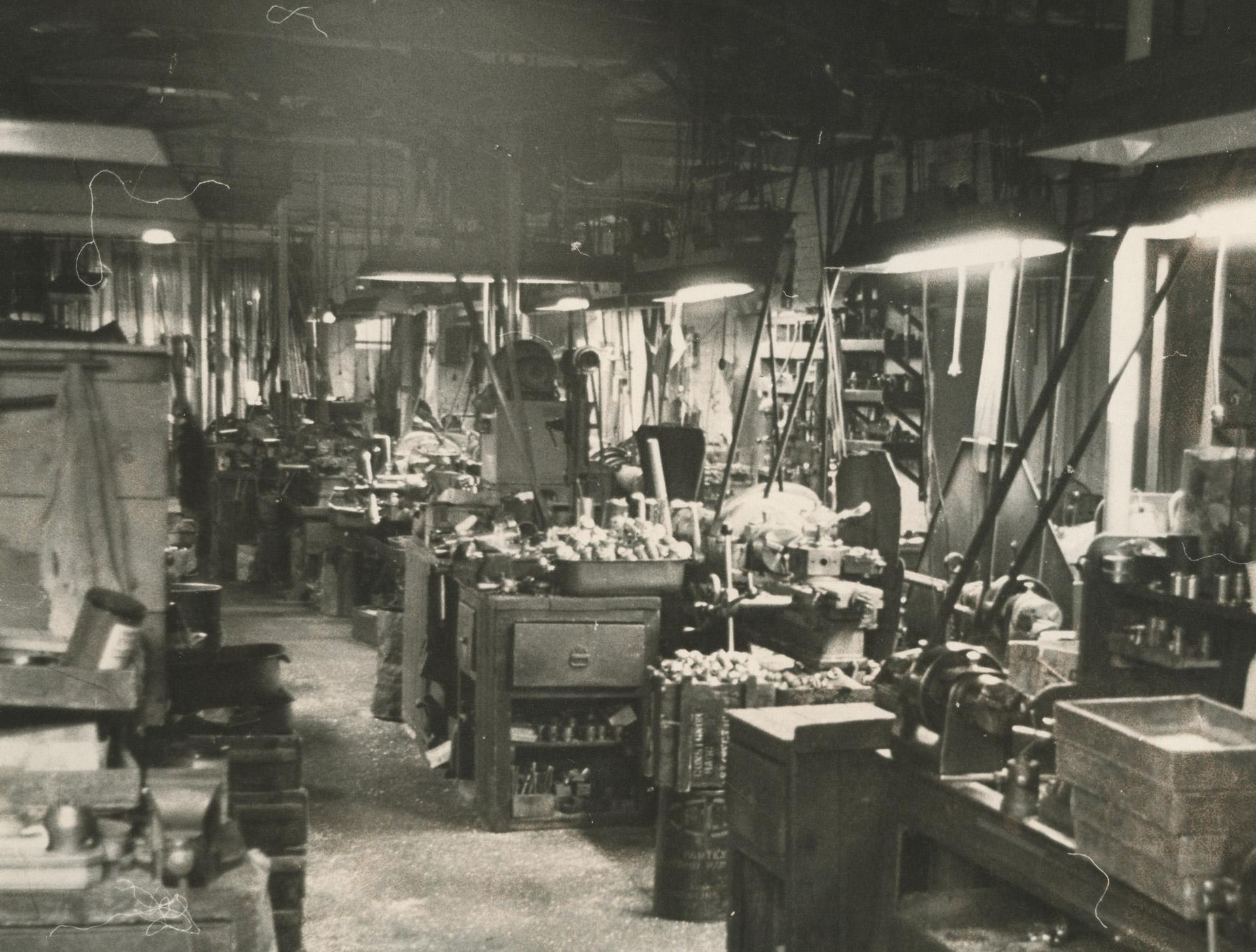 barber wilsons factory